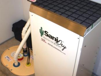 SaniDry™ Dehumidifier for Minnesota, North Dakota, Iowa, and Wisconsin basements