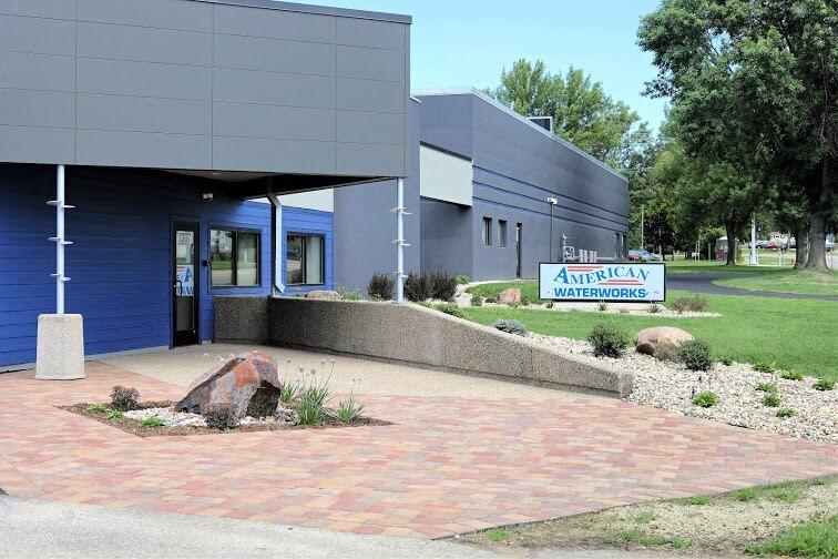 American Waterworks new building