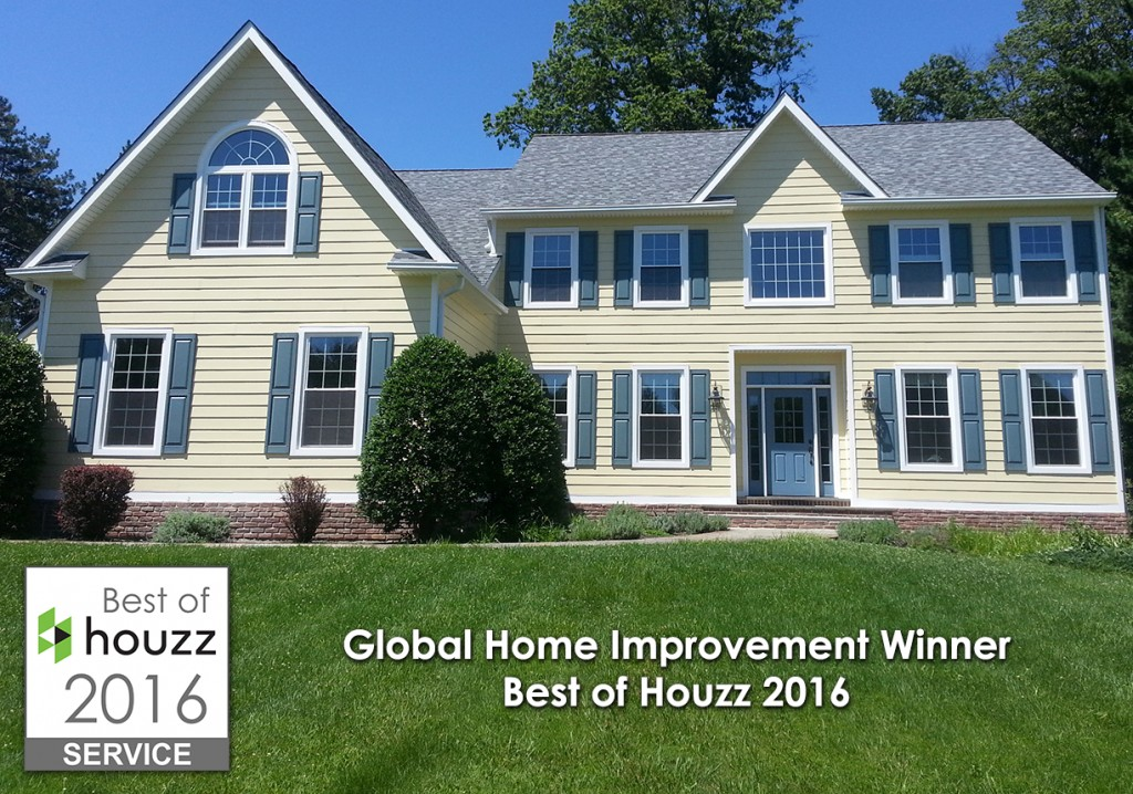 Global Home Improvement of Feasterville, PA and Morristown, NJ Awarded Best...