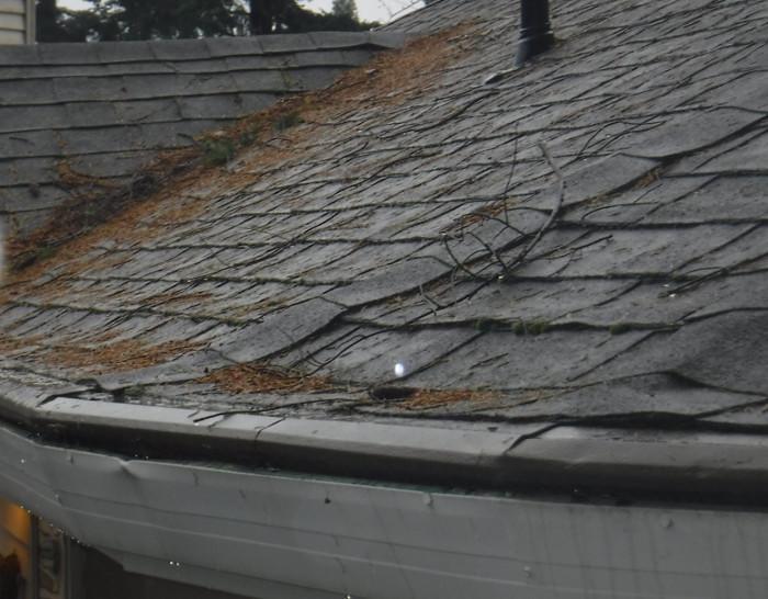 Gutter Helmet Flattening Roof