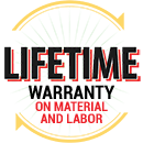 Lifetime Warranty on Labor