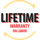 Lifetime Warranty on Labor