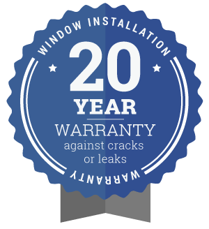 20 year warranty badge