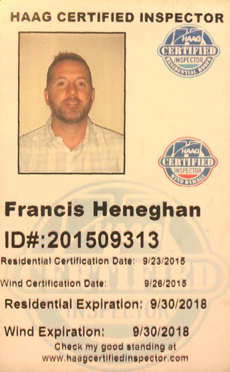 HAAG Certified Inspector Badge