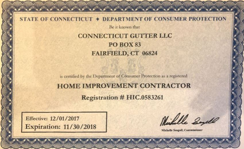 CT Home Improvement Contractor ID