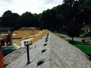 ridge vent installation and roof ventilation