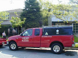 New Jersey Pest control truck
