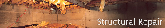 Sagging Crawl Space Repair in NJ, including Newark, Jersey City & Paterson.
