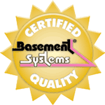 Certified Basement System Dealer