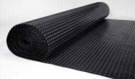 crawl space drainage matting