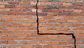 Cracked Foundation Bricks?