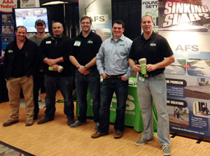 Alpha Foundations participating in a Homeshow Event in Florida and Georgia