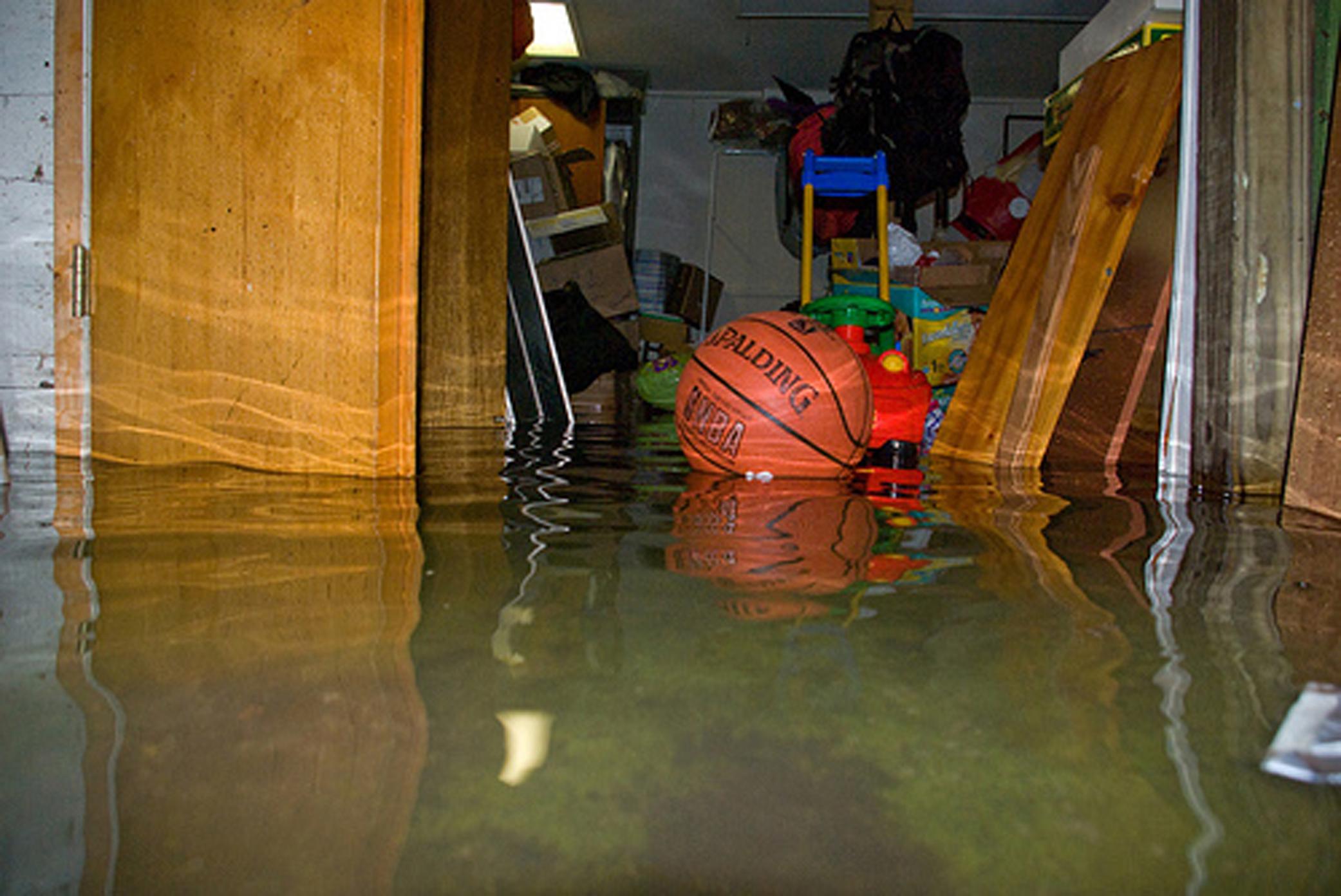 Flooded Basement - Image 1