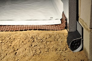 Crawl space drainage products