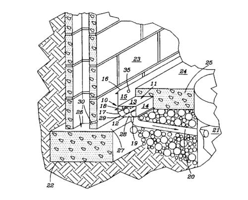 Sub-floor drain conduit
