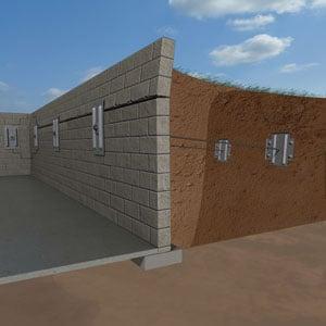 Bowing Foundation Walls Repair