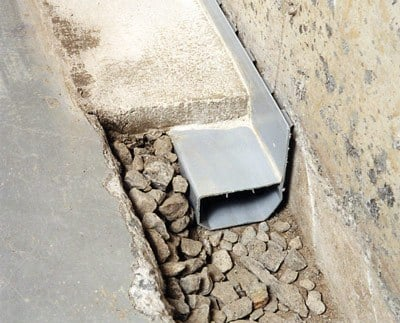 French Drain Vs Waterguard Interior Drainage System
