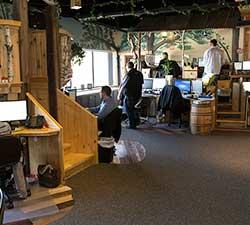 Treehouse Workspace at Basement Systems Headquarters