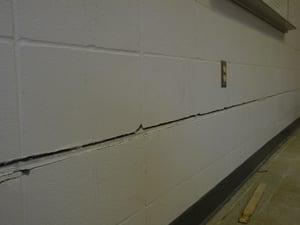 Concrete Wall Crack