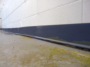 Floor Wall Crack