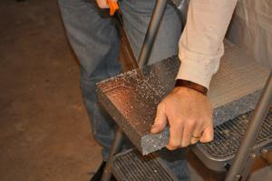 Installing SilverGlo™ rigid foam insulation
