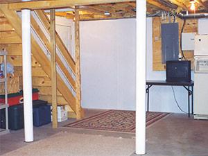 Brightwall Basement Paneling