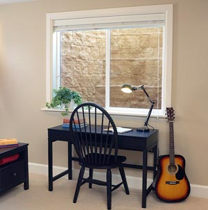 Installed RockWell™ Basement Window Well