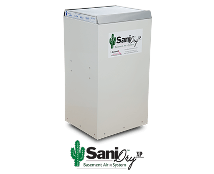 SaniDry™ XP Basement Dehumidifier and Air Filtration System