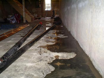 Sealing Basement Water Out