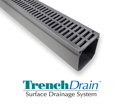 TrenchDrain Surface Drainage System