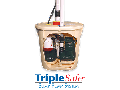 Triple Safe™ Sump Pump System