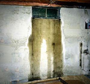 Basement leak from window well
