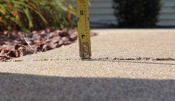 Greater Monroe Sinking Sidewalk Repair