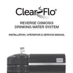 Clear Flo Drinking Water Systems Manual