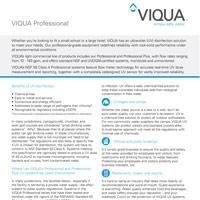 Viqua Professional Series Brochure