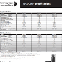 Conditioner System Specs