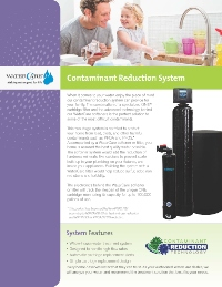 One™ Contaminant Reduction System