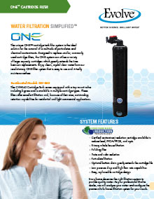 One™ Cartridge Filter