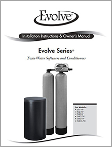 Twin Softener and Conditioner Manual