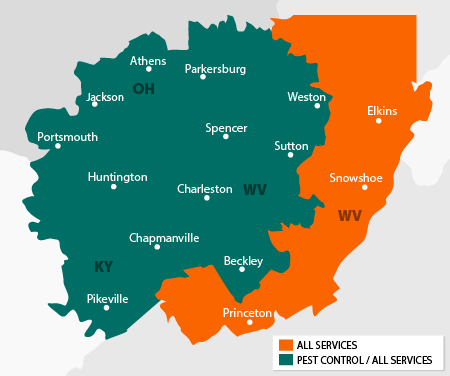 Alford Home Solutions service area map