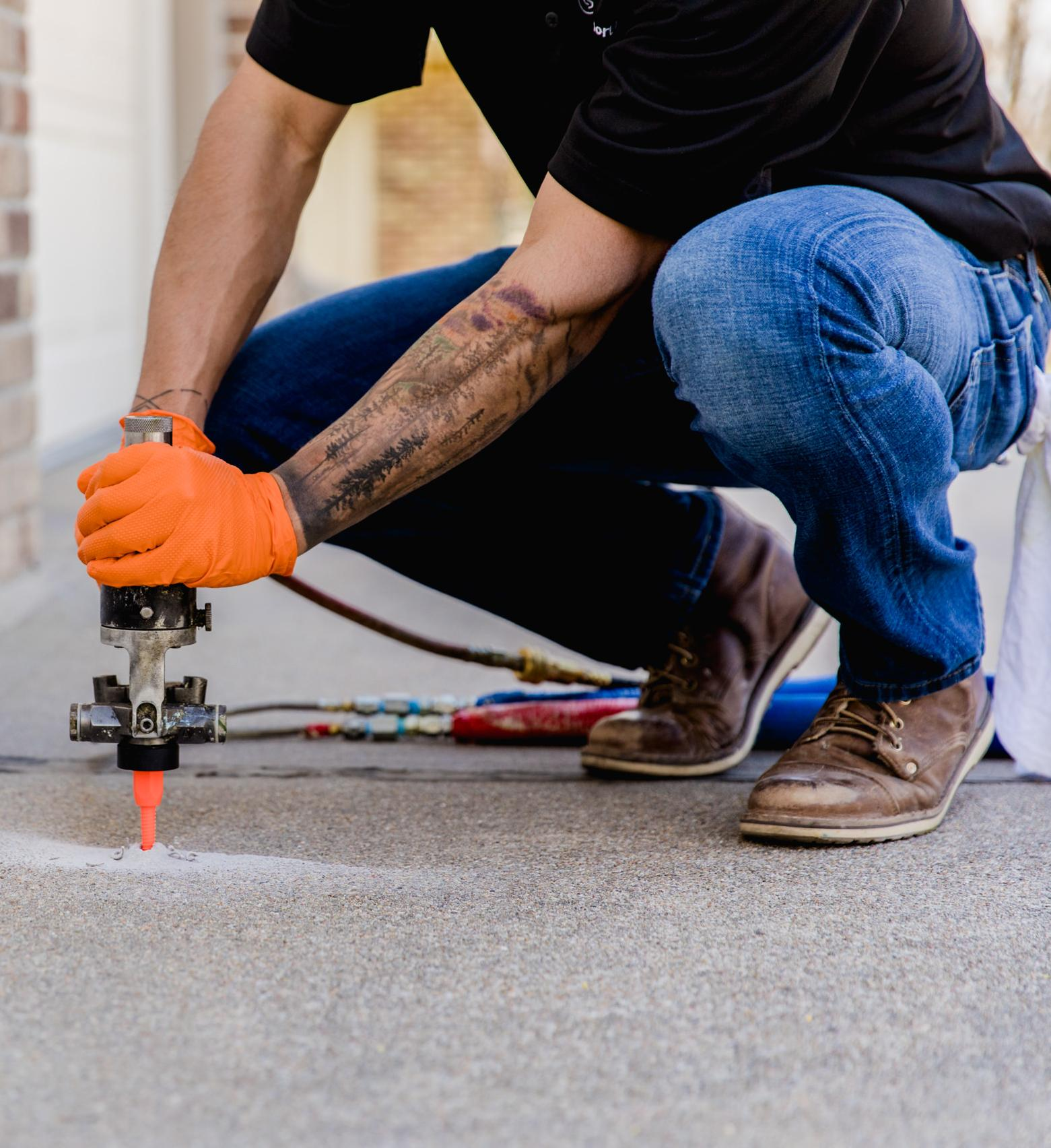 Richmond Concrete Leveling Contractor