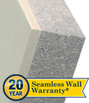 Tapered edge paintable insulated wall panels