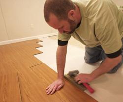 professional Basement finishing installation