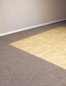 ThermalDry® Basement Flooring - Basement floor tiles in Aurora, Glendale Heights, Elgin, Joliet, and Naperville, IL