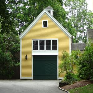 [Room above garage]