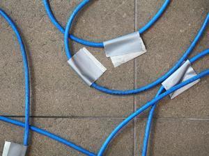 [hiding wires]