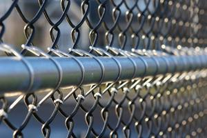 [chain link fence]