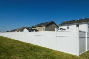 [white fence neighborhood]