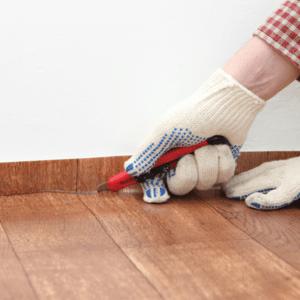 [laminate flooring install]