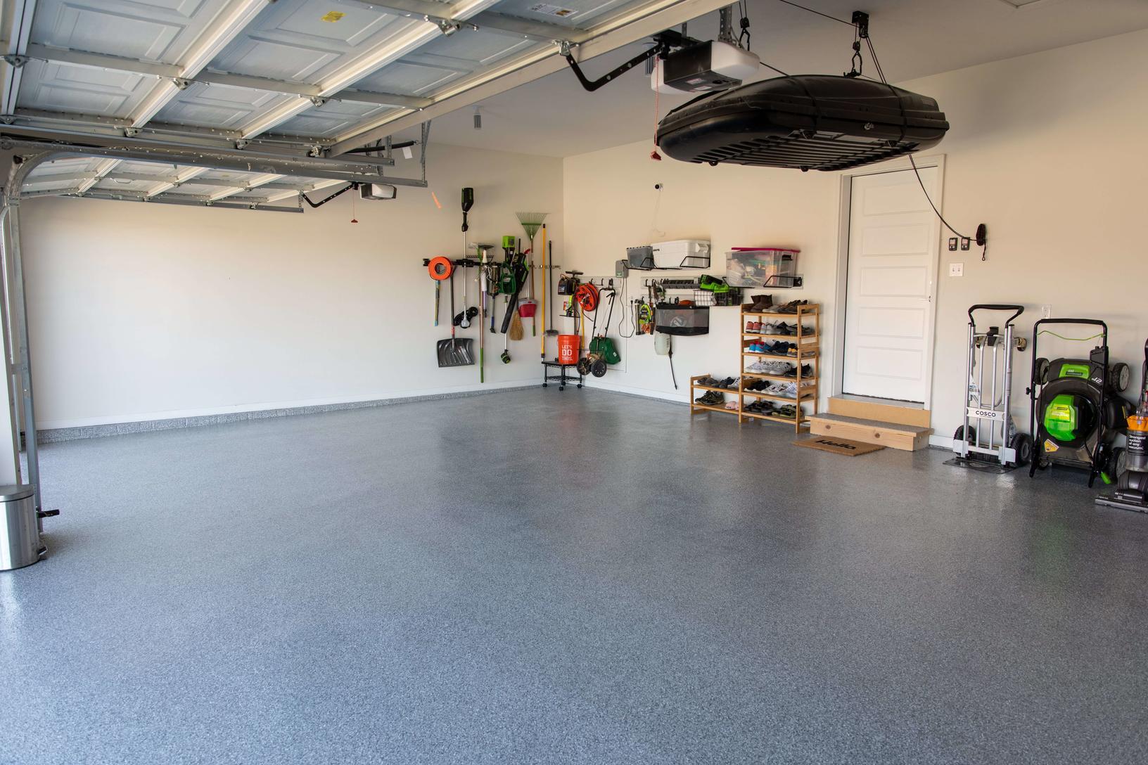 [garage floor coating project]